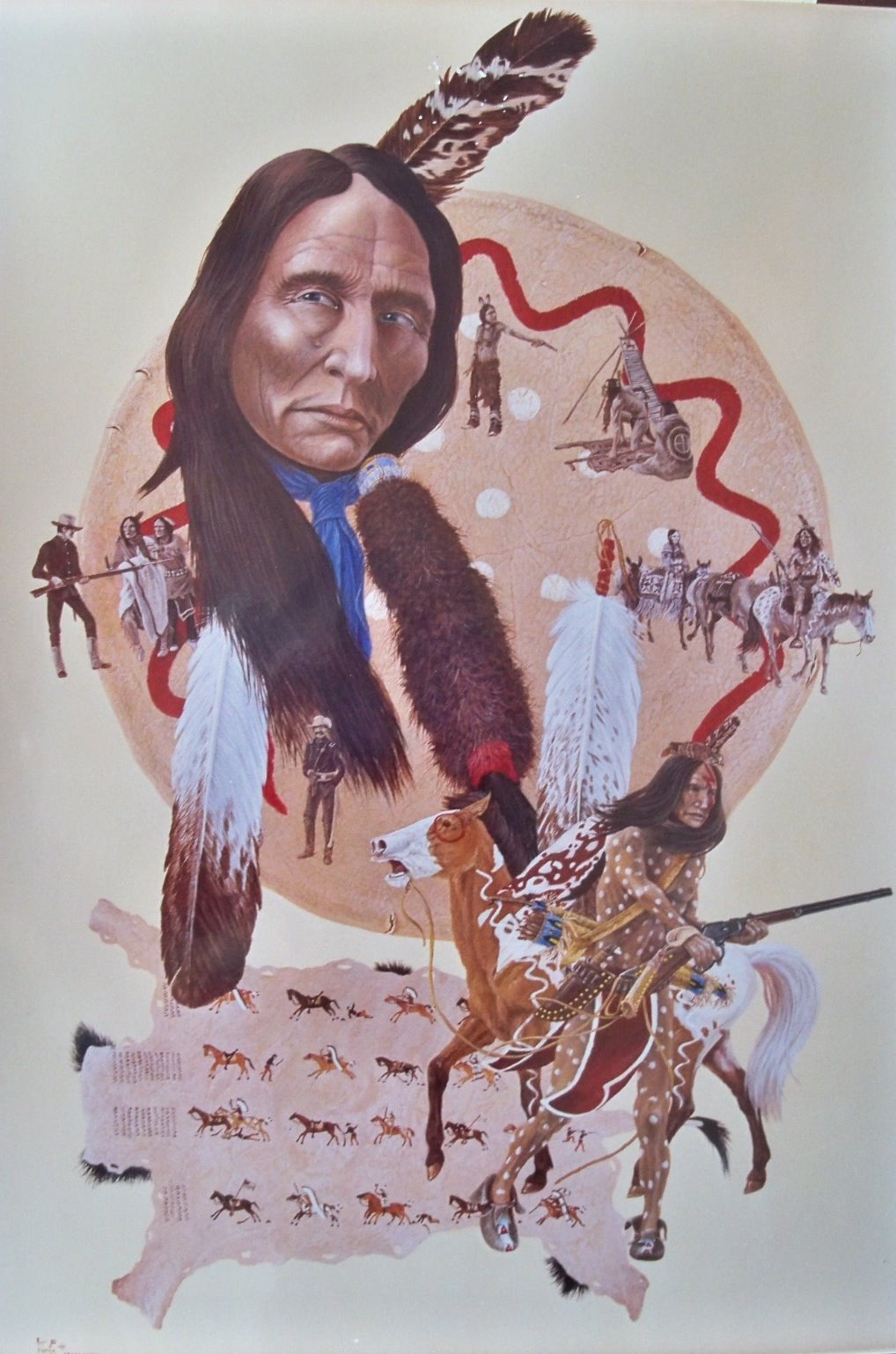 crazy horse man of The People